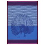 Le Jacquard Francais Planche Animaliere Paon  Azure Tea Towel 24 x 31 Inch 25630, EAN: 3660269256302, MPN: 25630