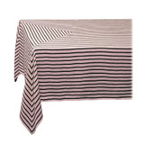 L'Objet Linen Sateen Concorde Tablecloth Medium Olive Pink, MPN: LN5420