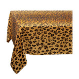 L'Objet Linen Sateen Leopard Tablecloth Large Natural, MPN: LN5521