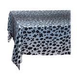 L'Objet Linen Sateen Leopard Tablecloth Medium Blue, MPN: LN5620