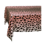 L'Objet Linen Sateen Leopard Tablecloth Medium Pink, MPN: LN5720