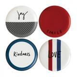 Royal Doulton Joy Plate 8 Inch Set of 4 Mixed, MPN: 40030173, UPC: 701587353670