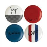 Royal Doulton Joy Plate 6 Inch Set of 4 Mixed, MPN: 40030174, UPC: 701587353687