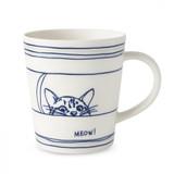 Royal Doulton Cat Mug 16.5 Oz, MPN: 40033711, UPC: 701587393973