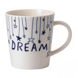 Royal Doulton Dream Stars Mug 16.5 Oz Navy Blue, MPN: 40034824, UPC: 701587405140