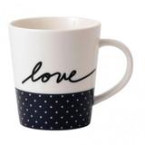 Royal Doulton Love Mug 16.5 Oz Navy Blue, MPN: 40034823, UPC: 701587405133