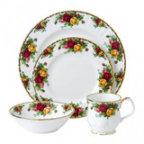 Royal Albert Old Country Roses 4-Piece Place Setting, MPN: 1051425, UPC: 701587427562