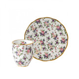 Royal Albert 100 Years 1940 2-Piece Set Mug & Plate 8 Inch English Chintz, MPN: 40035588, UPC: 701587003681