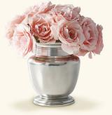 Match Pewter Rimmed Vase Petite, MPN: 1073.2