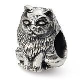 Birman Cat Bead - Sterling Silver QRS1272