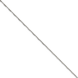 Chisel 18 Inch 1.80mm Fancy Link Chain Necklace Stainless Steel Polished SRN2252