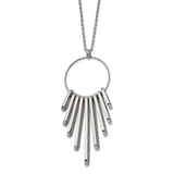 Chisel 20 Inch Necklace Stainless Steel Polished SRN2642-20