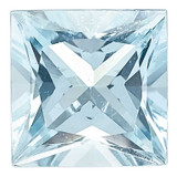 Aquamarine 4mm Princess A Quality, MPN: AQ-0400-SQP-A, UPC: