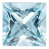 Aquamarine 3mm Princess  AA Quality, MPN: AQ-0300-SQP-AA, UPC: