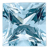 Aquamarine 4mm Princess  AAA Quality, MPN: AQ-0400-SQP-AAA, UPC: