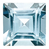 Aquamarine 5mm Square Step Cut  AA Quality, MPN: AQ-0500-SQS-AA, UPC:
