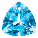 Blue Topaz 4mm Trillion  AA Quality, MPN: BT-0400-TRF-AA, UPC: