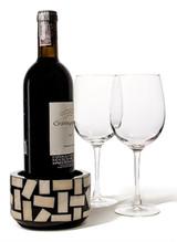LADORADA Bone Domino Bottle Coaster, MPN: BC-BD-NA-0505