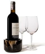 LADORADA Horn Veneer Bottle Coaster, MPN: BC-HL-NA-0505
