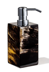 LADORADA Horn Veneer Soap Dispenser, MPN: SD-HL-CD-0303