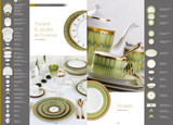 Deshoulieres Arcades Green Oval Dish, MPN: POV-MZ6722, UPC/EAN: 3104360556744