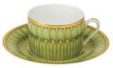 Deshoulieres Arcades Green Tea Saucer, MPN: ST-RI6722, UPC/EAN: 3104360556959