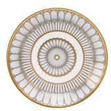 Deshoulieres Arcades Grey & Matte Gold Bread & Butter Plate, MPN: 030459, UPC/EAN: 3104363011899