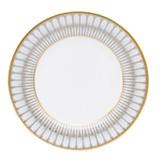 Deshoulieres Arcades Grey & Matte Gold Dessert Plate, MPN: 030458, UPC/EAN: 3104363011882