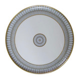 Deshoulieres Arcades Grey & Matte Gold Round Cake Platter, MPN: 033908, UPC/EAN: 3104363068404