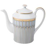 Deshoulieres Arcades Grey & Matte Gold Round Coffee Pot, MPN: 030462, UPC/EAN: 3104363011943