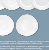 Deshoulieres Galets White Sugar Bowl, MPN: SU-GA, UPC/EAN: