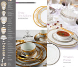Deshoulieres Orsay White Breakfast Cup, MPN: TG-RI6287, UPC/EAN: