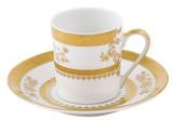 Deshoulieres Orsay White Coffee Saucer, MPN: SC-RI6287, UPC/EAN: 3104360172104