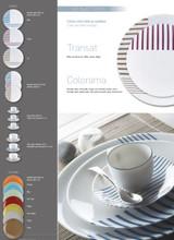 Deshoulieres Transat Blue Dessert Plate, MPN: 036541, UPC/EAN: 3104363182124