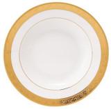 Deshoulieres Trianon Gold Rim Soup Plate, MPN: ACA-RI7070, UPC/EAN: 3104360937215