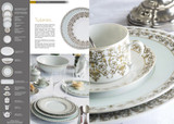 Deshoulieres Tuileries Mint Rectangular Cake Platter, MPN: 036476, UPC/EAN: 3104363177144