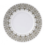 Deshoulieres Tuileries White Dinner Plate, MPN: 034860, UPC/EAN: 3104363096186
