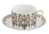 Deshoulieres Tuileries White Tea Saucer, MPN: 034865, UPC/EAN: 3104363096438