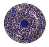 Deshoulieres Vignes Blue Bread & Butter Plate, MPN: 034339, UPC/EAN: 3104363078489