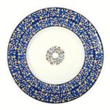 Deshoulieres Vignes Blue Dessert Plate, MPN: 034337, UPC/EAN: 3104363078380