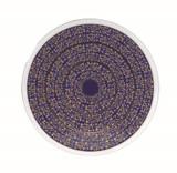 Deshoulieres Vignes Blue Round Cake Platter, MPN: 034358, UPC/EAN: 3104363079431