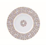Deshoulieres Vignes White Dessert Plate, MPN: 034336, UPC/EAN: 3104363078335