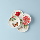 Lenox Butterfly Meadow Holiday Coaster Set of 4, MPN: 890145, UPC: 882864855992