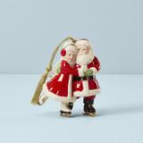 Lenox Ice Skating Santa And Mrs. Claus Ornament, MPN: 883612, UPC: 882864802781