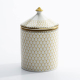 Halcyon Days GC Antler Trellis Ivory Hyacinth Lidded Candle , MPN: BCGAT04LCG