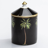 Halcyon Days MW Palm Black Oud Imperial Lidded Candle, MPN: BCMWP02LCG
