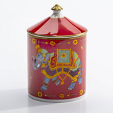 Halcyon Days Ceremonial Indian Elephant Jasmine Lidded Candle, MPN: BCCIE06LCG