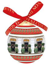 Halcyon Days London Door at Christmas Bauble Ornament, MPN: BCLND01XBN