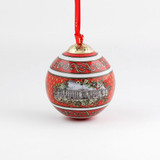 Halcyon Days Buckingham Palace Red Bauble Ornament , MPN: BCBKP06XBN