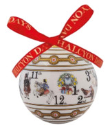 Halcyon Days The Twelve Days of Christmas Bauble Ornament , MPN: BCTDC01XBN